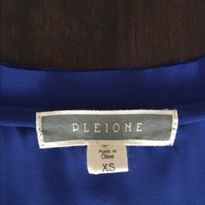 Pleione Tops - Blue Tank Top